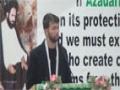 [04] Poetry by Br. Ali Safdar - 26th Martyrdom Anni. Shaheed Arif Al-Hussaini - 03Aug14 - Urdu