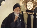 [04] Muharram 1436 - Insani Masael Aur unka Hal - Maulana Safi Haider - Urdu