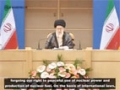 Leader: Iran considers the use of WMDs as an unforgivable sin - Farsi Sub English