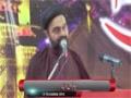 [یوم حسین ع] Speech : Maulana Muhammad Ali Naqvi - 27 November 2014 - Jinnah Medical University - Urdu
