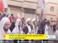 [20 Jan 2015] Bahraini pro-democracy protesters demand release of main opposition figure - English