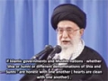 Today both among Sunnis and Shias there are elements working to sepearate muslims from one another - Ayatullah Khamenei