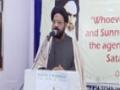 [Day 4] Hafta-e-Wahdat 1436 A.H - Seerat-e-Rasool (s) - Moulana Syed Taqi Raza Abedi - Urdu
