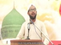 [Seminar : Yume Mustafa (S.A.W)] Speech : Br. Laeeq - Karachi University - Urdu