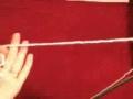 Knitting long Tail casting English