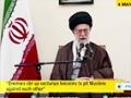 [18 May 2015] Ayatollah Khamenei: US particularly against anything that bears a sign of Islam - English
