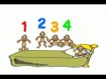 Five Little Monkeys - English