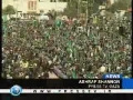 300000 attend Hamas 21st anniversary - 14Dec08 - English