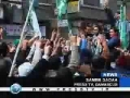 Palestinians in Damascus protest against Israeli strikes on Gaza - 27Dec08 - English