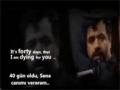Mahmud Kərimi - Sənə canımı verərəm [I am Dying for You] - Farsi Sub English Sub Azeri