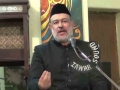 [05] Insani Mashere par Ambiya-e-Elahi ka Asar - Moulana Agha Mujahid Hussain - 5 Muharram 1437/2015 - Urdu