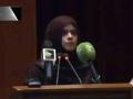 [یوم حسین ع] Speech : Syeda Salma Naqvi - 28 Oct 2015/1437 - NED University of Engineering and Technology - Urdu