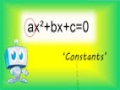 Solving Quadratic Equations - English