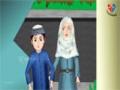 Abdul Bari Muslims Islamic Cartoon for children - Allahuakbar when you going Upward - Urdu