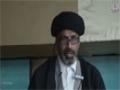 [04] Shahadat of Holy Prophet PBUH & Imam Hasan AS - Maulana Syed Ferhat - Safar 1437/2015 - Urdu & English