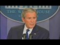 Bush melancholy in final press conference - Jan09 - English