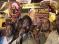 Protest rally Against Execution of Sheikh Nimr - Hindi - Hyderabad - India - Moulana Taqi Agha
