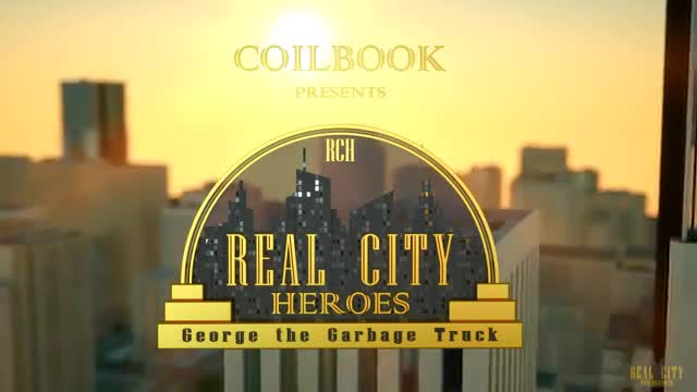 George The Garbage Truck Real City Heroes Rch